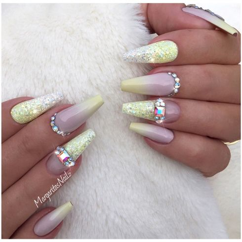 Pastel Yellow Ombré Nails by MargaritasNailz from Nail Art Gallery - 251 Best Ombre Nail Art Images On Pinterest