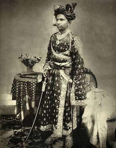 H.H. Maharawal Shri Fatehsinhji Motisinhji Sahib, the Raja of Chota Udaipur By Rohit Sonkiya