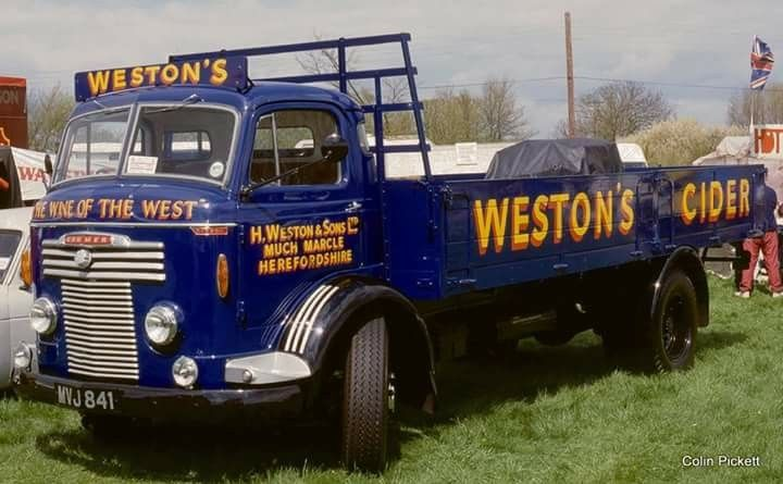 Commer QX. Weston's Cider.