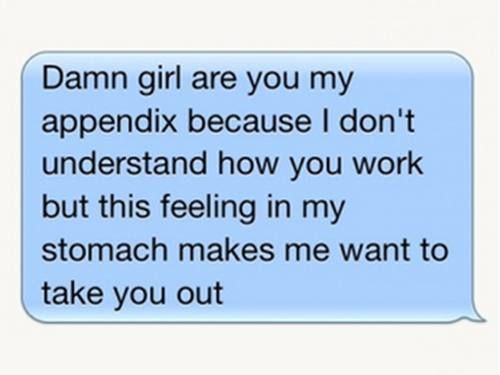 Terrible pick-up lines (15 photos)