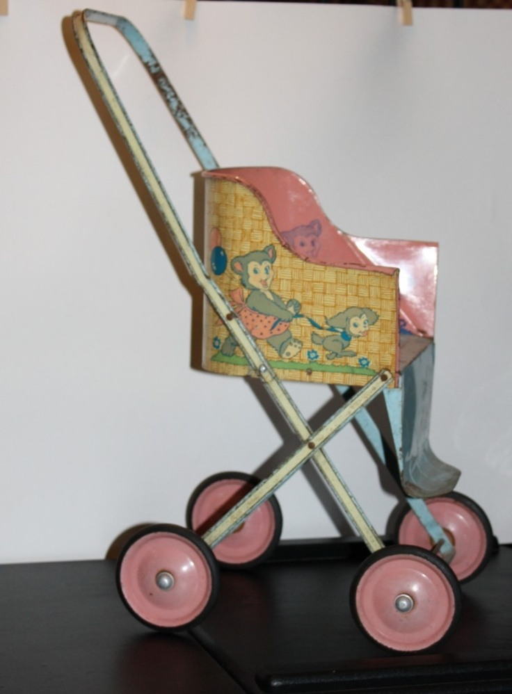 Vintage Doll stroller or buggy mfg Ohio Art Co.
