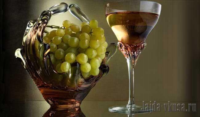 Коктейль из коньяка и виноградного сока