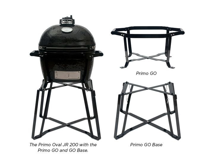 Primo GO Portable Stand For Oval JR 200   The Multi Functional Primo GO  Portable Stand For Oval JR 200 Is A Two Piece Design That Includes A Metal  Base And ...