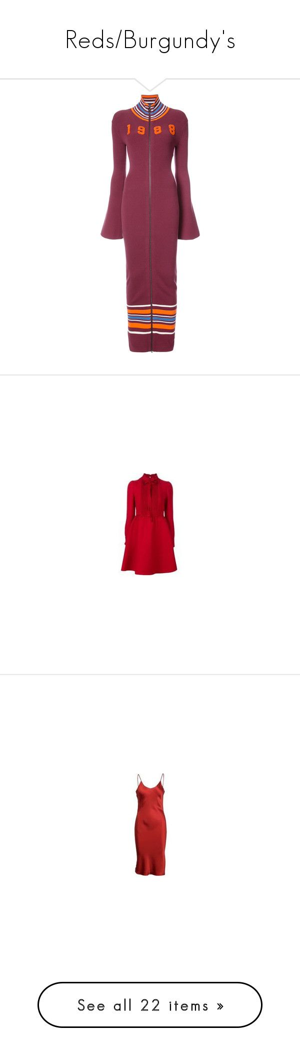 """Reds/Burgundy's"" by miss-amazing-grace ❤ liked on Polyvore featuring dresses, red, purple maxi dress, sweater dress, sweater maxi dresses, multi colored maxi dresses, purple sweater dress, oversized jersey dress, t shirt dress and jersey t shirt dress"