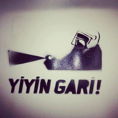 ''yiyin gari'' #occupygezi #direngeziparkı #direngezi #wearegezi #occupytaksim #occupyturkey #chapulling #Istanbul #Turkey