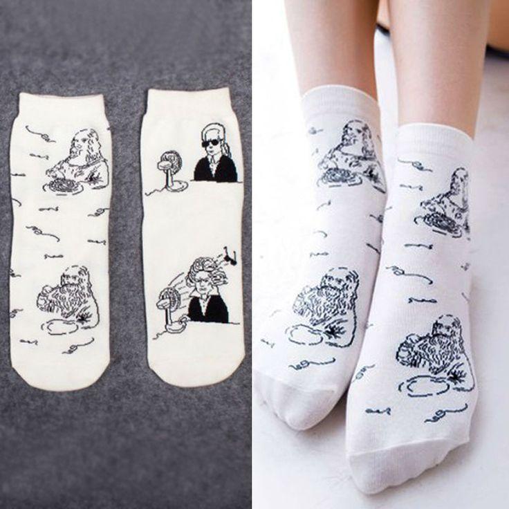 ホットファッション日本次元かわいいカワイイ漫画セレブ女性の靴下フルーツ甘い女性靴下用女の子/女性/レディース