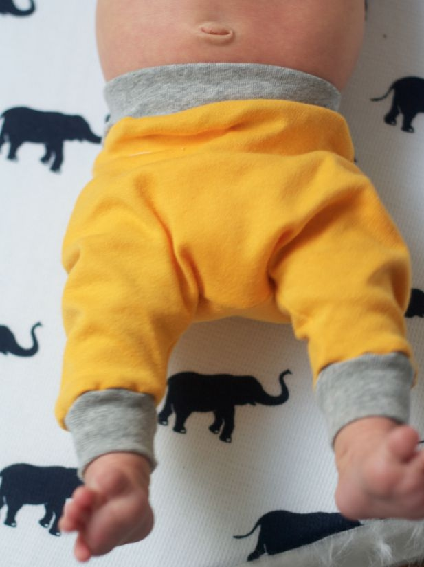 Tiny Harem Pants Sewing Pattern - The Alison Show