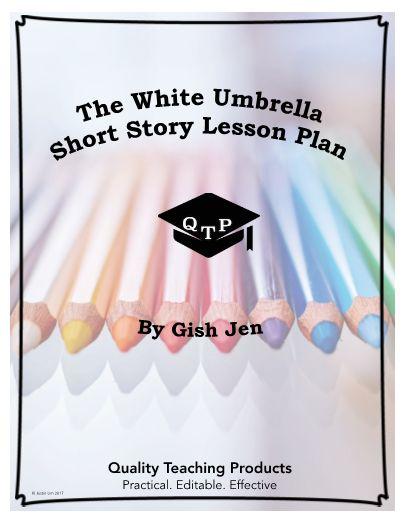"""The White Umbrella"" by Gish Jen Worksheet and Answer Key ..."
