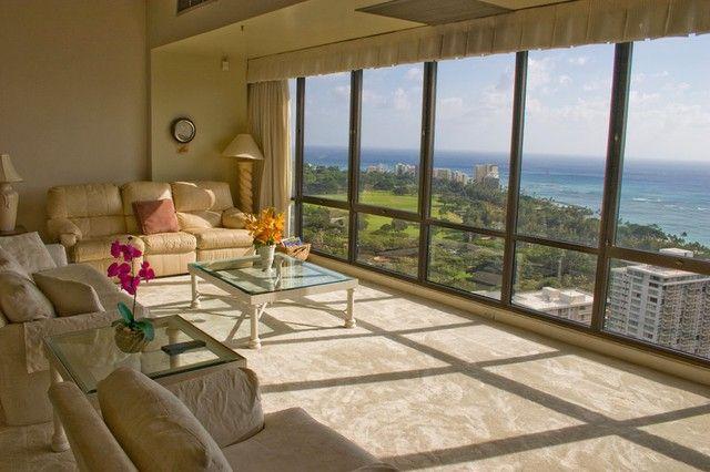 Waikiki Sunset Penthouse Suite 3806 Waikiki Sunset, Waikiki | RentalHomes.com #travel #hawaii