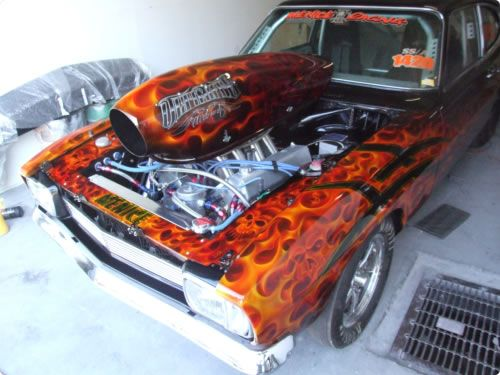 Best Flames Images On Pinterest Custom Cars Vintage Cars And - Custom vinyl decals for rc carsimages of cars painted with flames true fire flames on rc car
