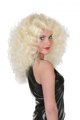 Pruiken, Grote blonde krullen pruik voor dames bij Feestwinkel Fun en Feest Belgi�. Online Grote blonde krullen pruik voor dames bestellen. Verzending Belgi�