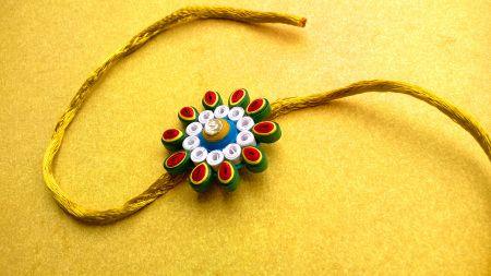 Eternal Bond of Rakhi - Handmade with Love!!  Paper Quilling Rakhi Collection