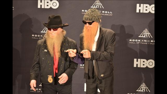 Relive the #RockHall2012 Inductions with our red carpet and press room photo galleries.  It was one rockin' night!
