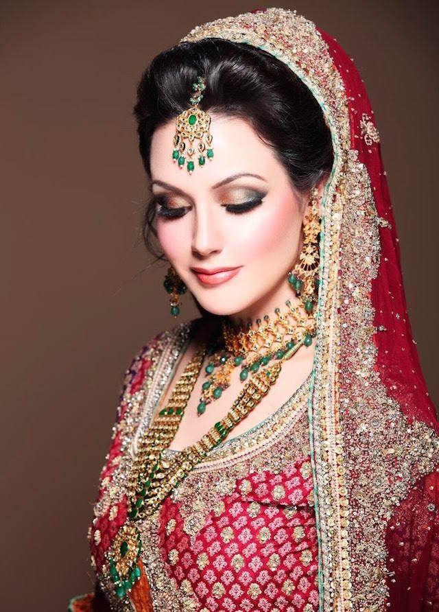 moda 2015 maquillaje de novia estilo árabe