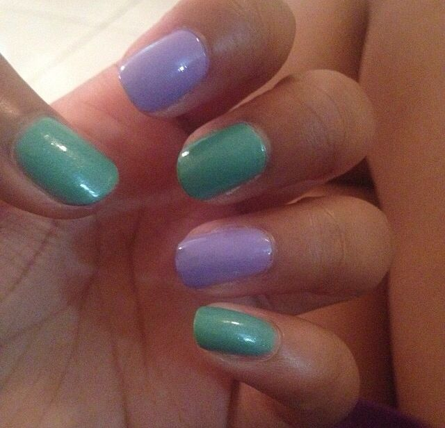 Little Mermaid Nails: Little Mermaid Nails!!!!!