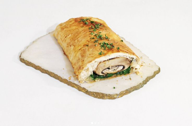 Portobello Mushroom Wrapped in Phyllo Pastry. Delicious and perfect cooking recipe for the weekend. Find this recipe and more on Jonny Hetherington Essentials website.
