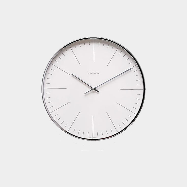 -Wall Clock — Max Bill, 1956