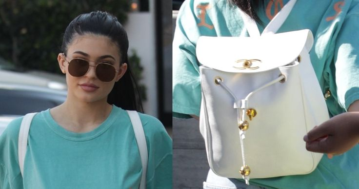 Kylie Jenner was spotted stepping out in a white vintage Chanel backpack. Here are five alternatives since the piece seems to be unavailable.