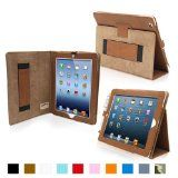 iPad 4 & iPad 3 Case – Leather Case Cover and Flip Stand