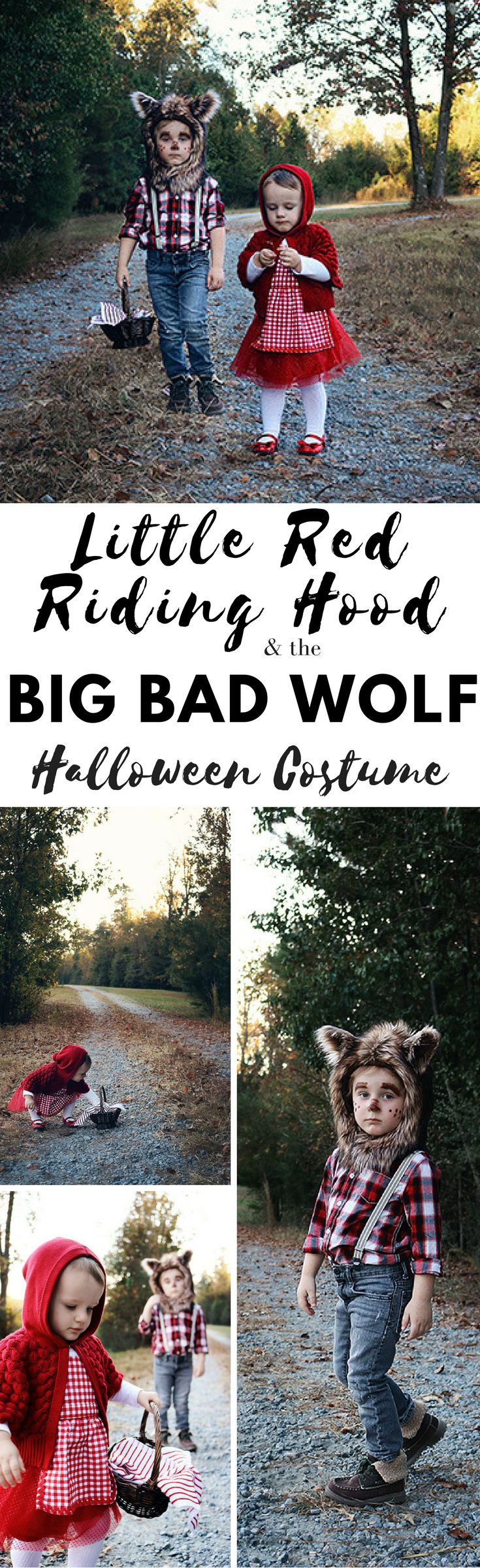 DIY HALLOWEEN |  HALLOWEEN COSTUMES FOR KIDS | BROTHER AND SISTER HALLOWEEN COSTUMES | HALLOWEEN DIY COSTUMES | SIBLING HALLOWEEN COSTUME IDEAS |  HALLOWEEN COSTUME IDEAS FOR KIDS | FAMILY HALLOWEEN | LITTLE RED RIDING HOOD HALLOWEEN COSTUME | BIG BAD WOLF HALLOWEEN COSTUME | UNIQUE COSTUME IDEAS FOR KIDS |
