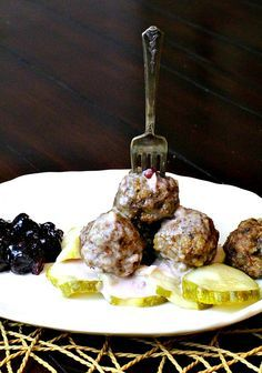 Authentic Swedish Meatball recipe