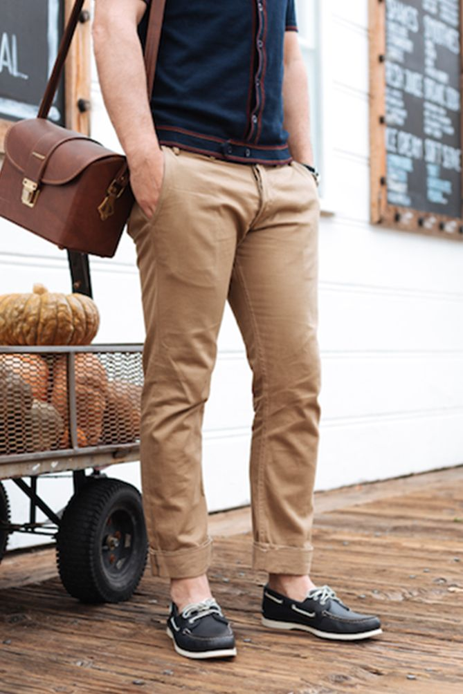 casual shoes with khakis