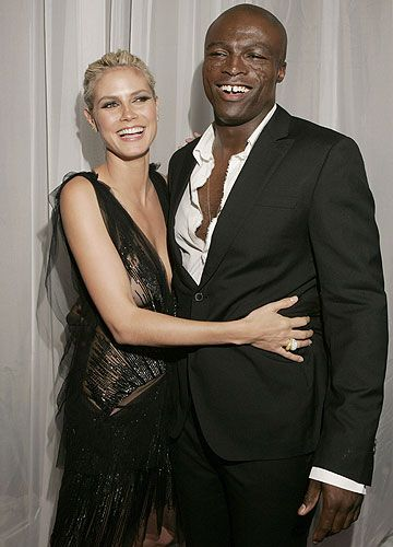 Seal and Heidi Klum Photo - Photos: Rock Stars and the Models Who Love Them | Rolling Stone