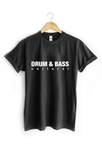 Camiseta Drum and Bass !