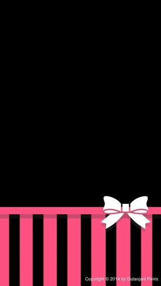Black And Pink Wallpaper SCellphone