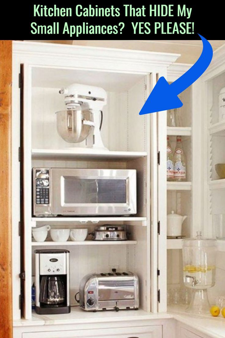 How To Arrange Appliances In Small Kitchens Without Adding More Kitchen Clutter Decluttering Your Life Solutions Large