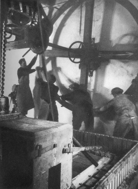 A press in Champagne (ca 1930)