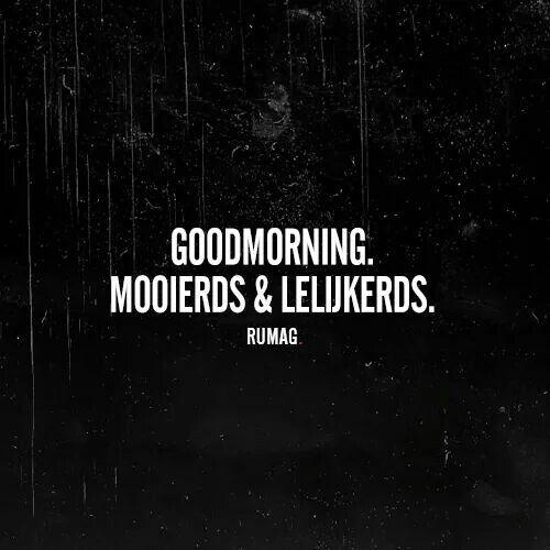 Goodmorning! #rumag