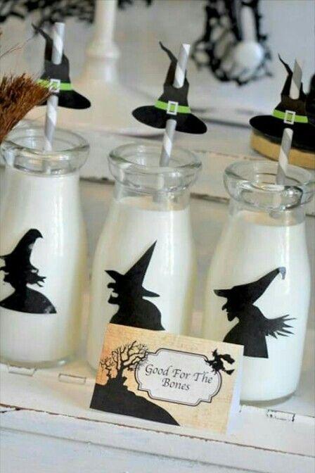 Halloween milk jugs