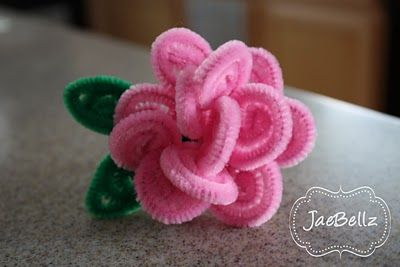 Love this flower-Easy to Make and so pretty!  Wear as a ring or as a pin or use as an embellishment