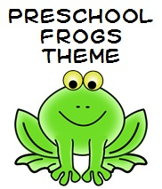 Here are some basic theme ideas for helping preschool aged children learn about frogs.