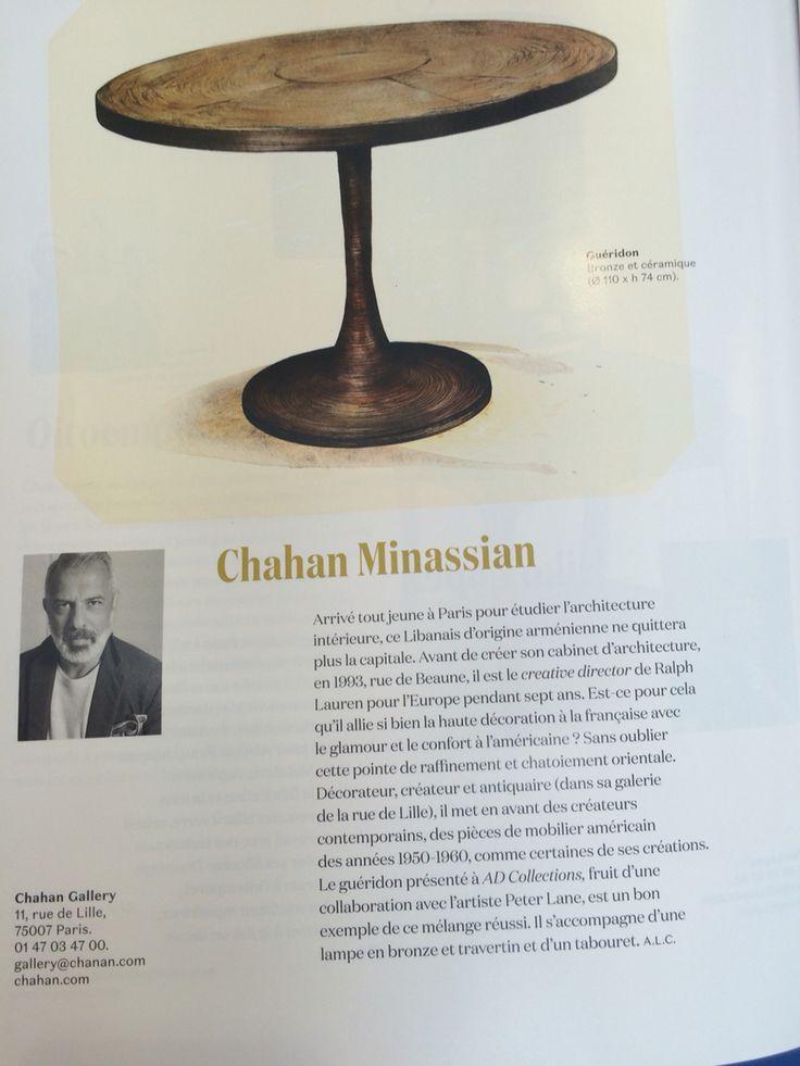 Table Chahan Minassian