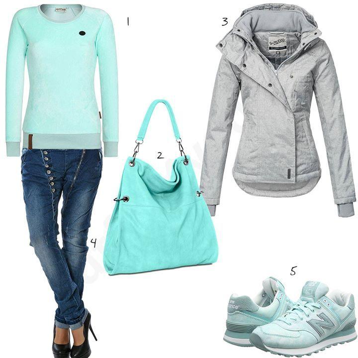 Hellgrünes Damen-Outfit mit New Balance Sneakern (w0601) #ootd #outfit #style #fashion #womenswear #womensfashion #outfits4you #damenoutfit #frauenoutfit #outfit2017 #inspiration #womensstyle #damenmode #frauenmode #mode #sneaker