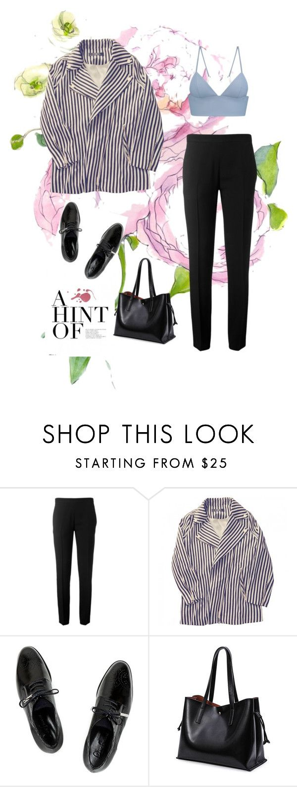 """""""Go"""" by riskisaumirf on Polyvore featuring Chloé, Zara, Dear Frances and T By Alexander Wang"""