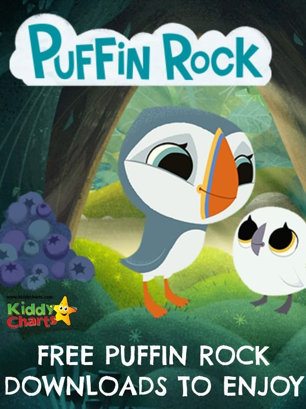 On our blog today we have FREE Puffin Rock colouring pages for your child to enjoy