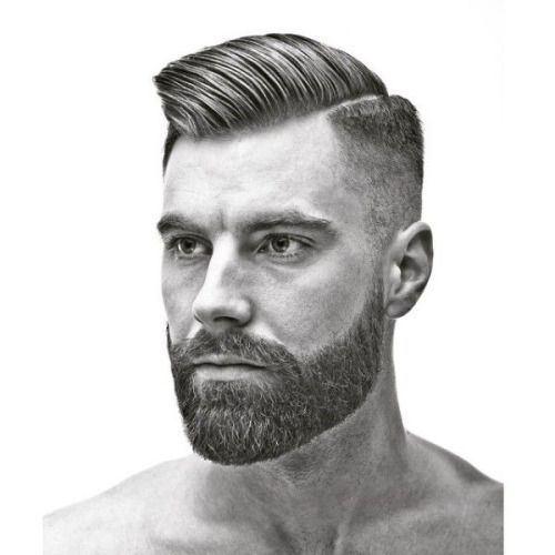 Enjoyable 1000 Images About Beards And Hairstyles On Pinterest Rockabilly Short Hairstyles Gunalazisus
