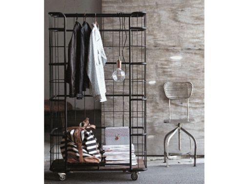 House Doctor DK's open industrial storage rack. Industrial-Cool Home Decor Items | Home + Garden | PureWow National