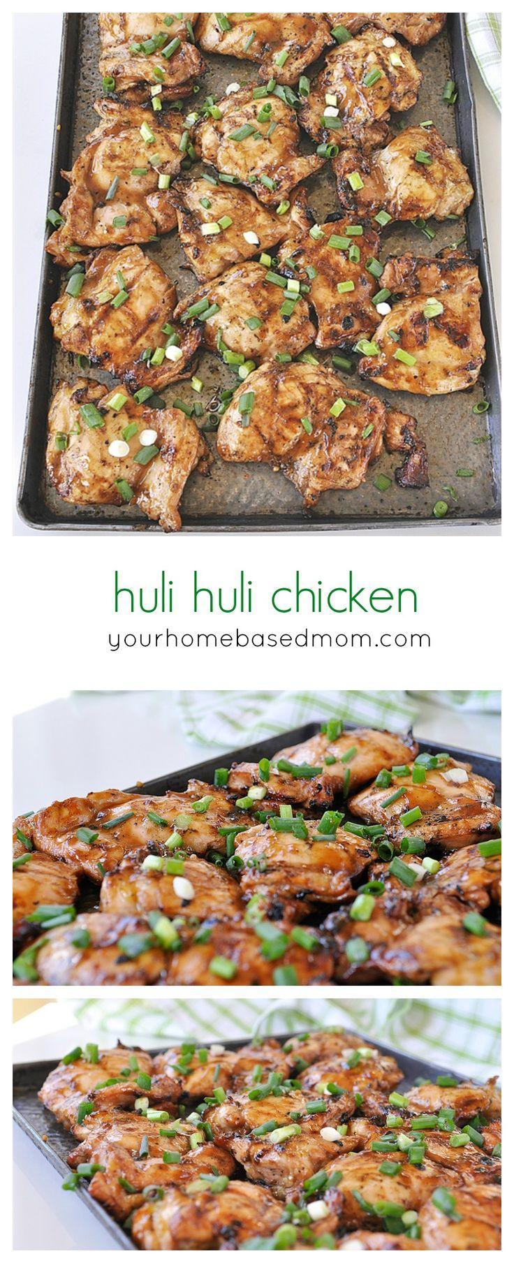 huli huli chicken - easy Hawaiian BBQ'd chicken | Posted By: DebbieNet.com |
