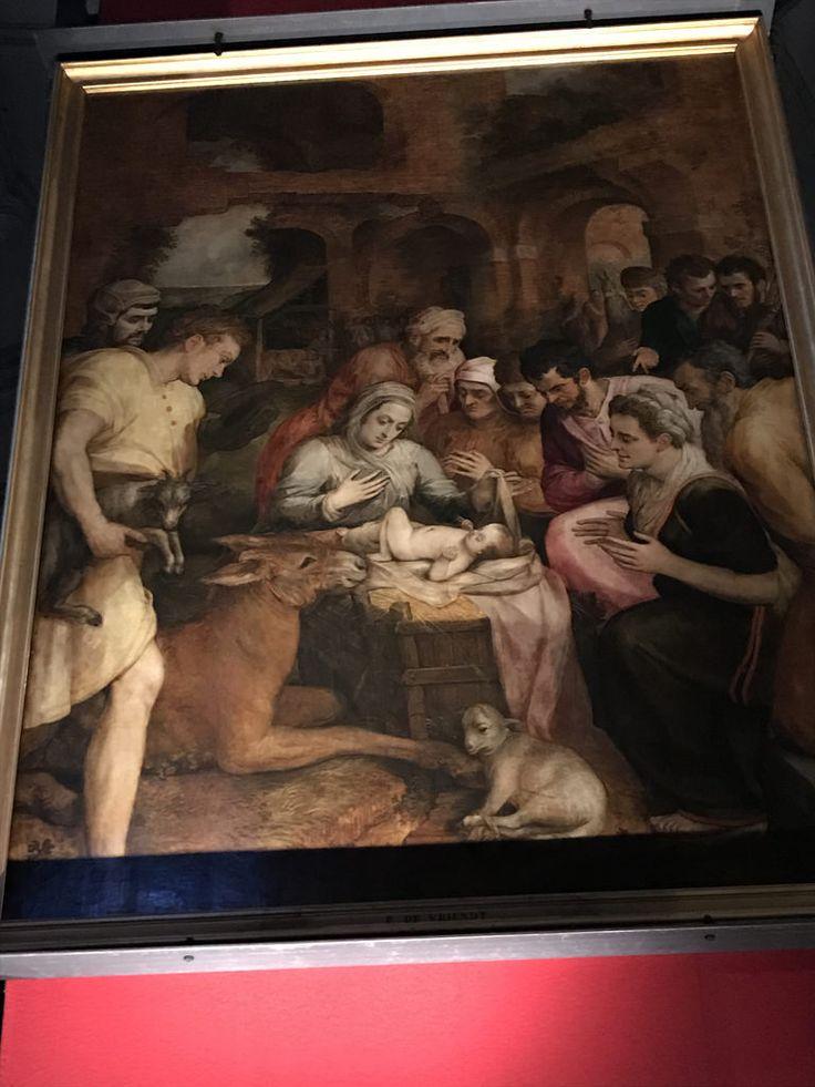 IMG_8223 Frans Floris. Поклонение волхвов.