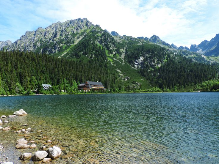 Lake Poprad, High Tatras, Slovakia