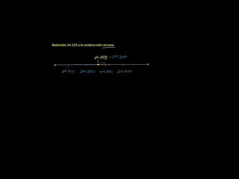 CÓMO REDONDEAR NÚMEROS ENTEROS; video