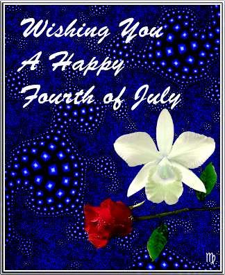 4th of july note cards