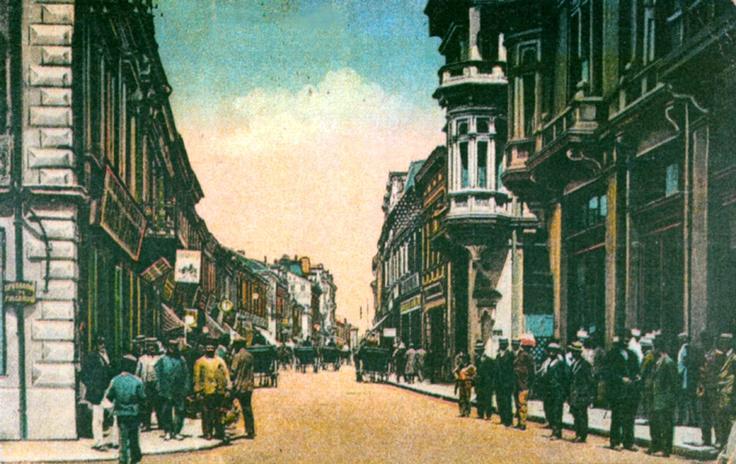 Craiova - Calea Unirii la inceputul secolului al XX-lea ;