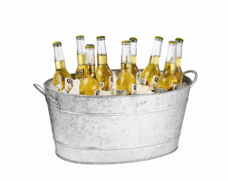 Tablecraft Galvanized Steel Oval Beverage Tub & Reviews | Wayfair