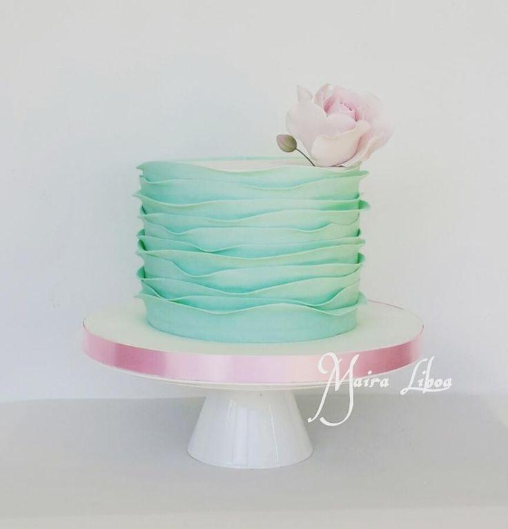 17 Best ideas about Ruffle Cake on Pinterest Buttercream ...