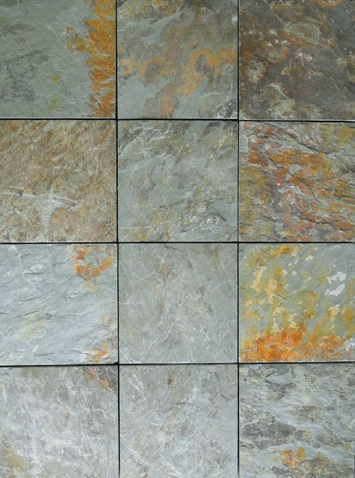 Outdoor Tile Natural Stone : Create an elegant slate patio in just minutes with ezytile